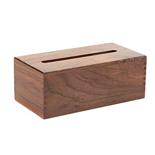 HEMFV Wooden Bamboo Rectangular Tissue Box Cover