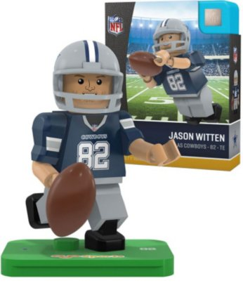 OYO NFL Dallas Cowboys Gen4 Limited Edition Jason Witten Mini Figure, Small, White