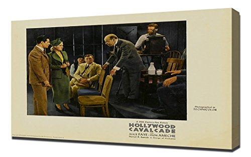 Poster - Hollywood Cavalcade 12 - Canvas Art Print ()