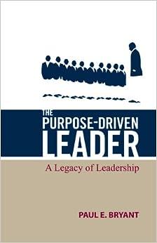 Book The Purpose-Driven Leader