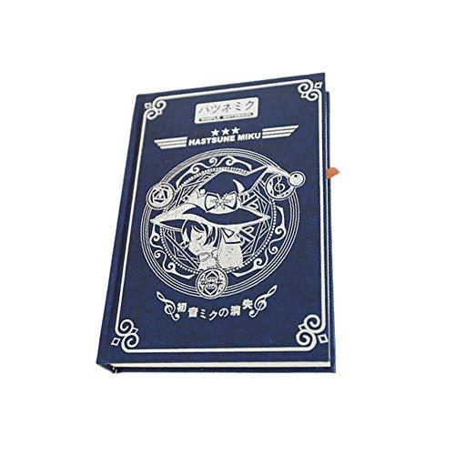 GK-O Anime Card Captor Sakura Fate Stay Night Hatsune Miku Black Butler Magic Book Diary Travel Journal Note Book (Hatsune Miku)