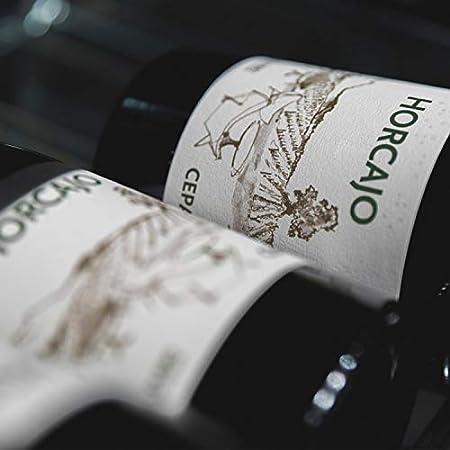 CEPA 21 - Horcajo, Vino Tinto, Tempranillo, Ribera del Duero, Pack de 3 botellas de 750 ml, Caja de Madera