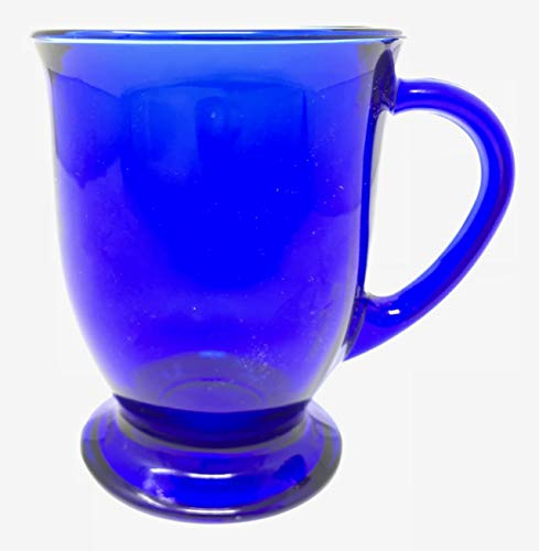 Anchor Hocking Cafe Oversized Coffee Mug - Cobalt Blue