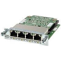 Cisco EHWIC-4ESG= Enhanced High-Speed WAN Interface Card - 4 x 10/100/1000Base-T WAN