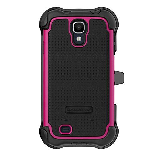 - Ballistic SG MAXX Case for Samsung Galaxy S4 - Retail Packaging - Black/Hot Pink