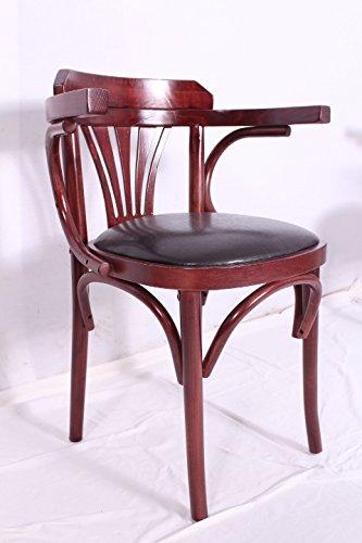 Firma BiG Trade Sedia in legno curvato Sedia con braccioli/Cafe casa ...