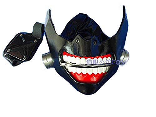 - Tokyo Ghoul Kaneki Ken Pure Handmade Mask Costume Props (Animated Version)