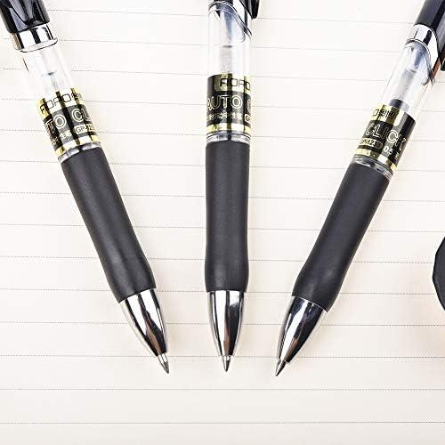 Students Ball-point Pen Short Spin Office School Teens Roller ball Supplies T6G5