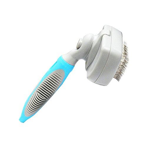 UPC 013964891232, SH@MAKE Dog or Cat Self-Cleaning Grooming Slicker Brush BSAO098M (Medium)