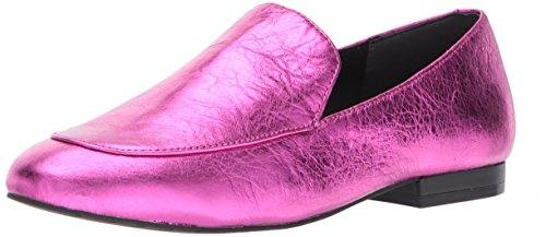 Kenneth Cole New York Women's Westley Slip on Loafer Flat, Magenta, 9.5