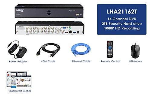 Lorex LHA21162T True HD1080p 16 CH DVR 2TB HDD LHA2000 series