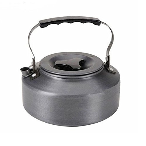 Ezyoutdoor 1.1L Portable Outdoor Coffee Kettle Camping Pot Camping Cooking Tool Set