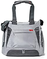 Skip Hop Bento Meal-to-Go Diaper Bag, Platinum Grey