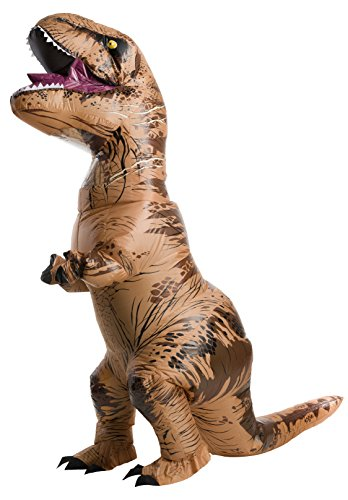 Rubies Teen Jurassic World  Fallen Kingdom Inflatable T Rex Costume