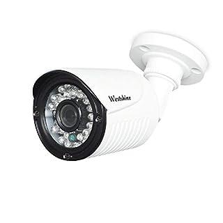 "Westshine Security Bullet Camera 1080P 2.0MP 1/2.7"" Sensor 3.6mm Lens 4-in-1 AHD/TVI/CVI/CVBS Camera IR Cut 30 LEDs 83ft Night Vision Weatherproof Outdoor Indoor Cameras"