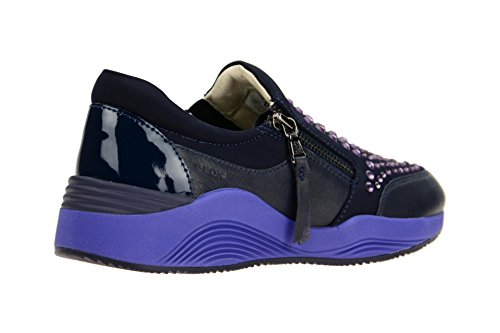 Women039;s OMAYA Model Brand Shoes Geox Sports Sports Violet Women039;s Colour Shoes Dark D Blue Violet xqPwa4fw