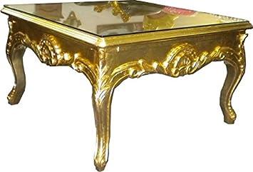Casa Padrino Barock Couchtisch 70 X 70 Cm Gold Couch Tisch