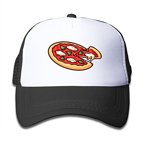 Elephant AN Pizza Mesh Baseball Cap Kid Boys Girls Adjustable Golf Trucker Hat