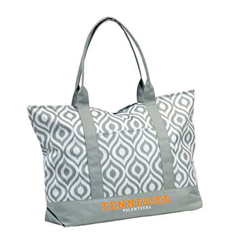 NCAA Tennessee Volunteers Adult Ikat Tote, Tangerine