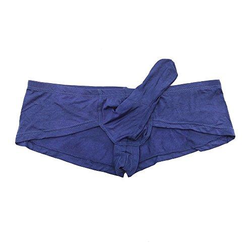 Sozixi Men's Sexy Underwear Boxer Briefs With Sheath