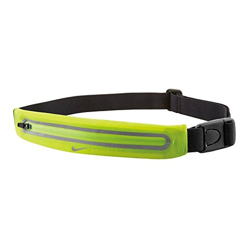 Nike Lean Hip Pocket, Volt/Black, 25 x 6 cm