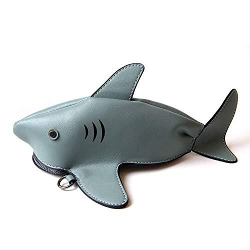 LUI SUI New Animal Shark Cross Body Bags Womens Unique Adorable Cute Clutch Purse Bags
