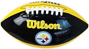 Wilson NFL Pittsburgh Steelers balón de fútbol americano Junior ...