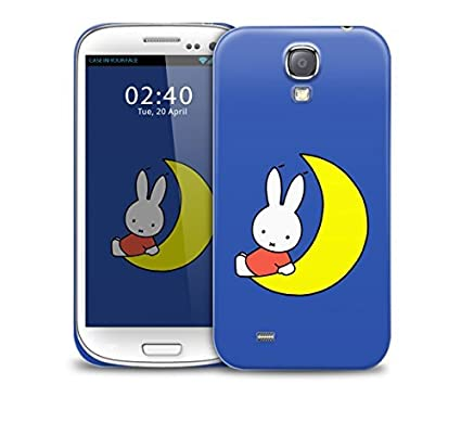 huge discount 7e0ef 829e0 miffy moon Samsung Galaxy S4 GS4 protective phone case: Amazon.co.uk ...