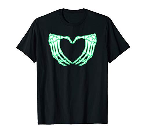 Skeleton Hands Shirt, Heart, Xray Halloween Costume]()