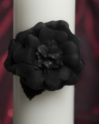 Gothic Romance Wedding Unity Candle Set: Candle Color: White by Wedding Collectibles (Image #1)