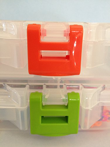 The YOURganizer Storage Container Boxes Clear Plastic Organizer