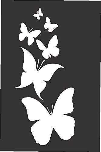 Butterflies vinyl stickers// car decals// window decals