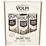 Volpi Salame Trio Pack Genoa, Sopressata and Romano, 24 Ounce