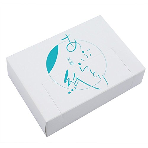 Oil Blotting Facial Paper. 1000 Pieces [Business] Face Care Natural Blotting Paper by 上越