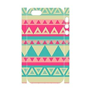 Cool Painting Aztec Tribal Pattern Brand New 3D Cover Case for Iphone 5,5S,diy case cover case537978