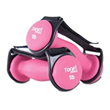 Tone Fitness Walking Dumbbells, Pair