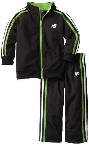 New Balance Boys 2-7 2 Piece Tricot Jacket and Pant Sport Set
