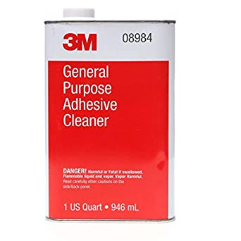 2 Packs 3m 08984 1 Quart General Purpose High Quality Adhesive Cleaner Brand New Adhesives, Sealants & Tapes