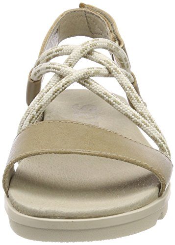 Toe Open Women's Sandals Torpeda Fawn Sorel Sandy Ii Tan cHOWTwqS