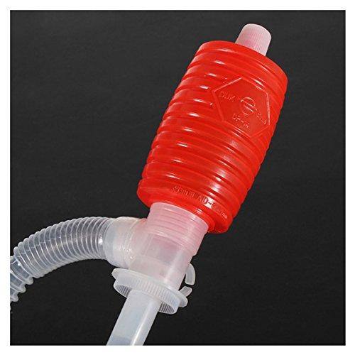 Siphon Saugpumpe Handpumpe Umfuellpumpe Fass Benzin KFZ oel Wasser Flusspump Pumpe R Siphon Saugpumpe SODIAL