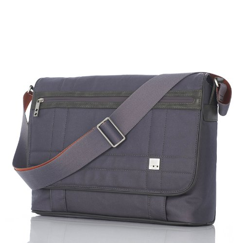 6fab096f25d Amazon.com: Knomo Brixton Collection Saxby Laptop Messenger Bag Backpack,  Slate Matte: Computers & Accessories