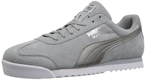 PUMA Womens Roma Classic Met Safari Wn Sneaker, Quarry-Quarry, 5.5 M US