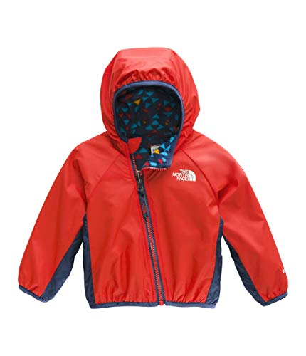 The North Face Kids Unisex Reversible Breezeway Jacket (Infant) Fiery Red 0-3 Months ()