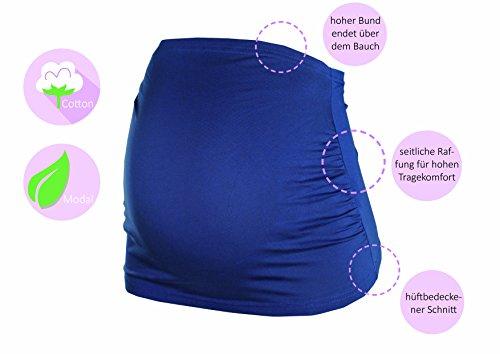 HERZMUTTER - Faja de embarazo - para mujer negro/azul