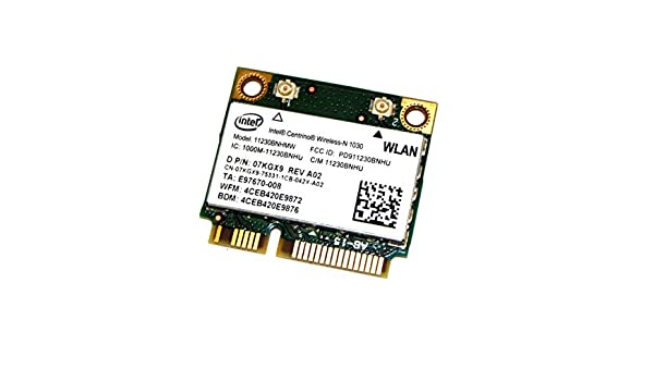 Amazon.com: Dell Intel 1030 WiFi 11230BNHMW 802.11 a/b/g/n ...