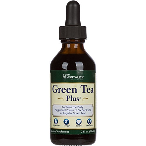 Green Tea Plus | Convenient & On The Go Concentrated High Antioxidant Extract to Support Healthy Metabolism (30 Day - Green Extract Liquid Tea