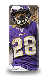 Forever Collectibles NFL Minnesota Vikings Adrian Peterson #28 Hard Snap On Iphone 6 Plus 3D PC Case ( Custom Picture iPhone 6, iPhone 6 PLUS, iPhone 5, iPhone 5S, iPhone 5C, iPhone 4, iPhone 4S,Galaxy S6,Galaxy S5,Galaxy S4,Galaxy S3,Note 3,iPad Mini-Mini 2,iPad Air )