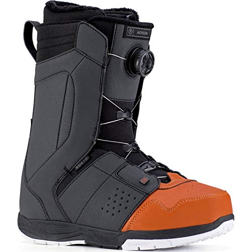 Ride Mens Jackson Snowboard Boots, Terracotta And Black, 12 ()