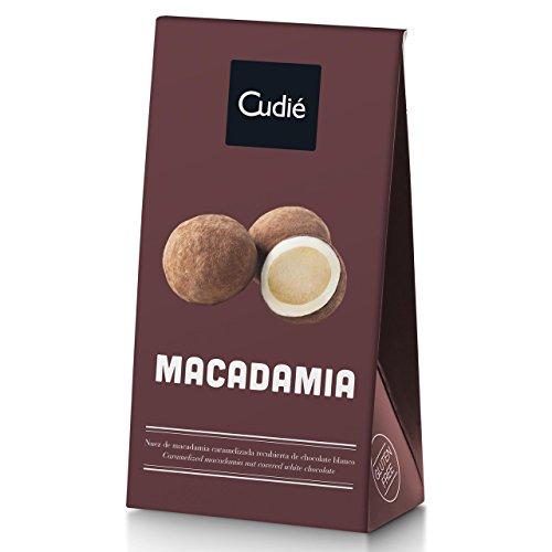 Catanies - karamellisierte Macadamia in weißer Schokolade, Cudie, 80 g