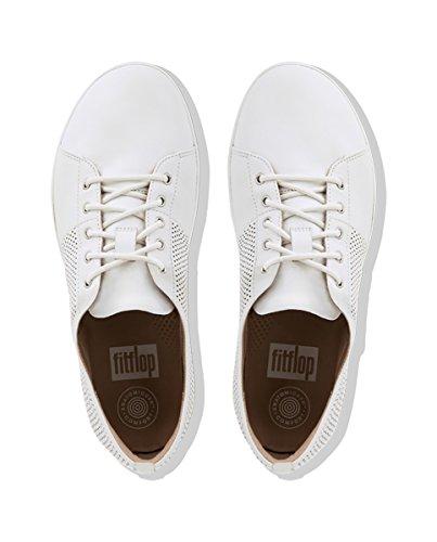 Fitflop K36 Dames F-sportief Scheppen-gesneden Performance Sneaker Urban White